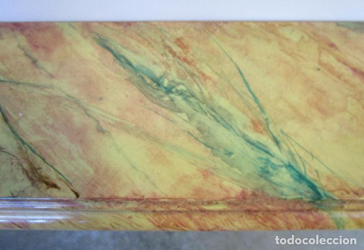 Arte: Bonita Consola, Ménsula Barroca - Peana - Retablo en Talla de Madera Dorada en Pan de Oro - S. XVIII - Foto 18 - 227996565