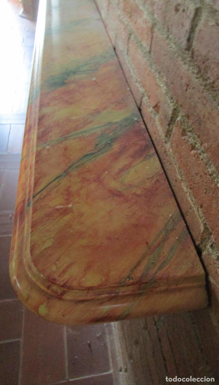 Arte: Bonita Consola, Ménsula Barroca - Peana - Retablo en Talla de Madera Dorada en Pan de Oro - S. XVIII - Foto 22 - 227996565