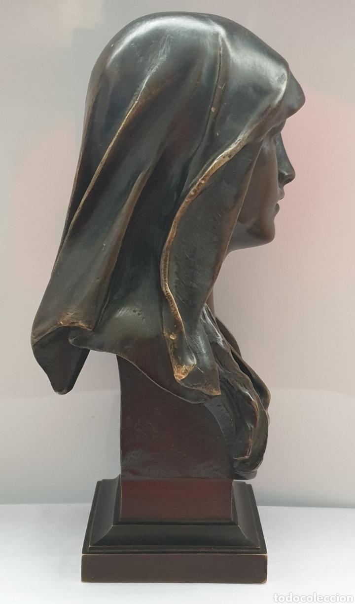 Arte: Busto Maria Magdalena bronce Marioton - Foto 2 - 219500696