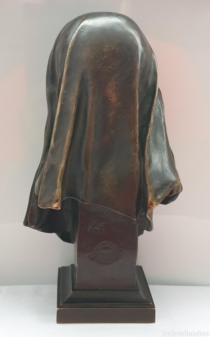 Arte: Busto Maria Magdalena bronce Marioton - Foto 3 - 219500696