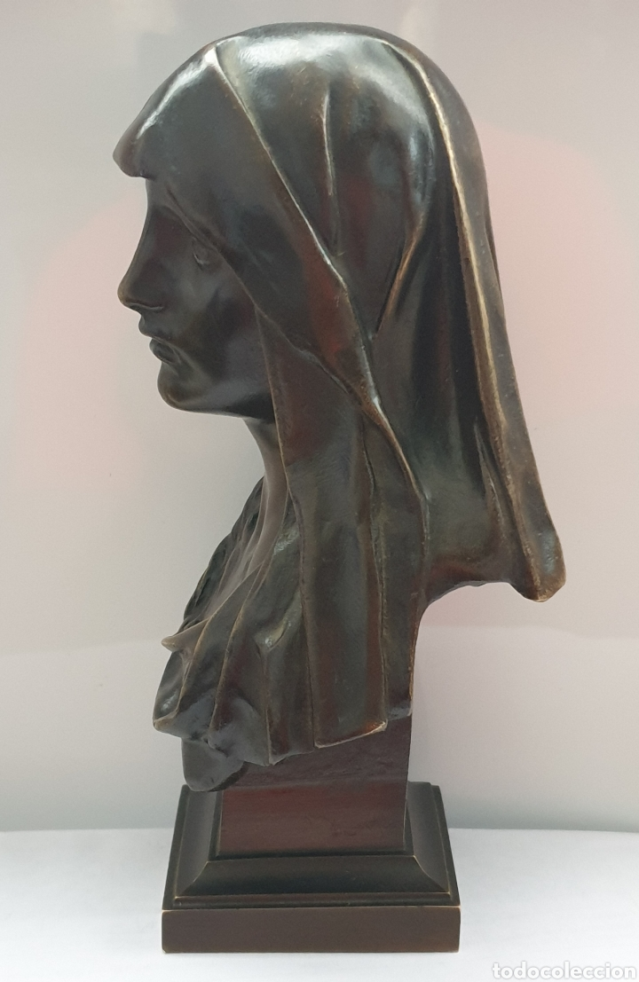 Arte: Busto Maria Magdalena bronce Marioton - Foto 4 - 219500696