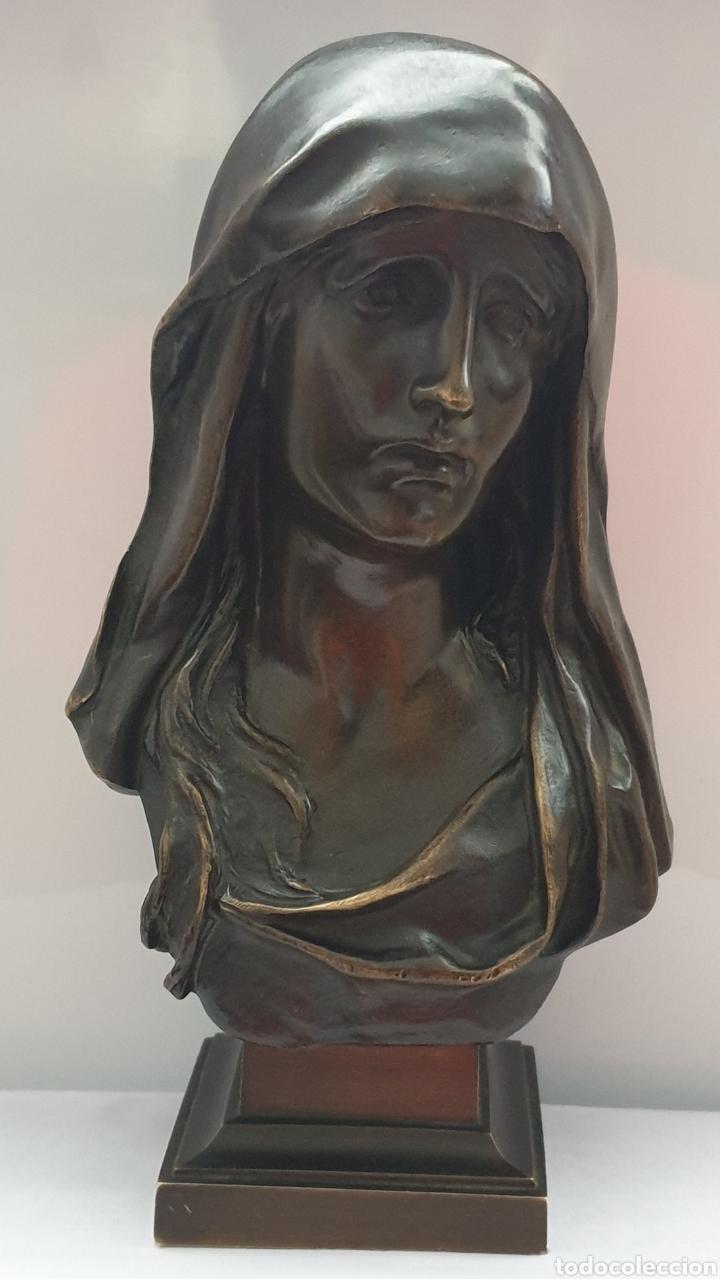 BUSTO MARIA MAGDALENA BRONCE MARIOTON (Arte - Escultura - Bronce)