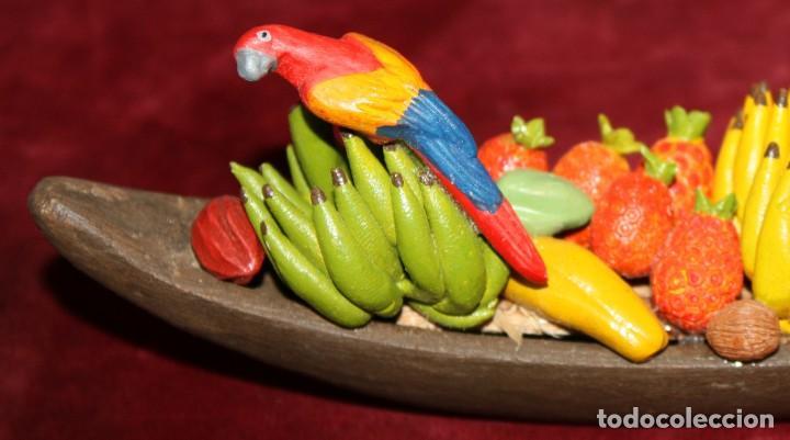 Arte: CECILIA VARGAS MUÑOS-la chiva- (Colombia) CANOA EN TERRACOTA.FIRMADA - Foto 4 - 219676415