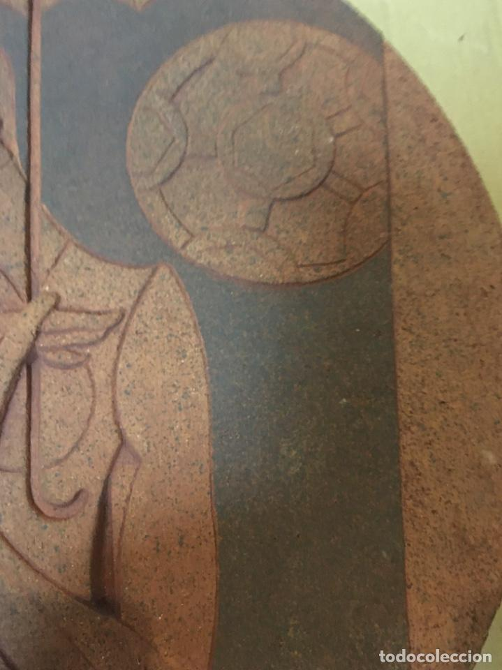 Arte: (M/R/C/C) JORDI ALUMÀ I MASVIDAL - OLIMPISMO - ESCULTURA EN BARRO GRES - 43 cm buen estado Firmada - Foto 3 - 219973457