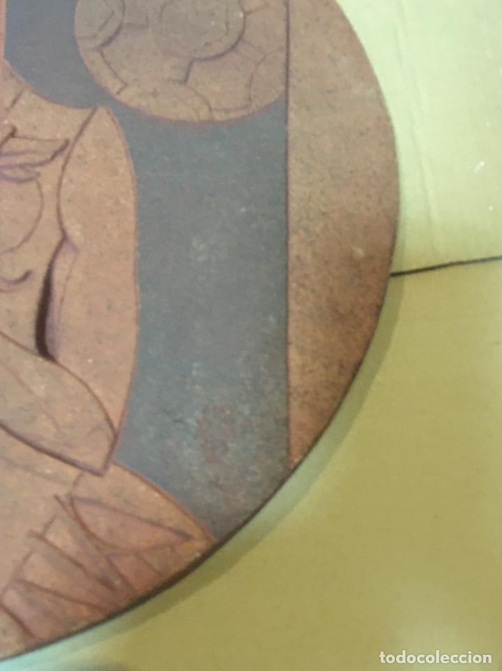 Arte: (M/R/C/C) JORDI ALUMÀ I MASVIDAL - OLIMPISMO - ESCULTURA EN BARRO GRES - 43 cm buen estado Firmada - Foto 6 - 219973457
