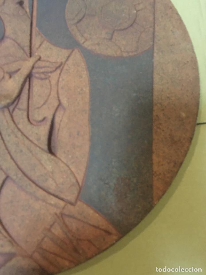 Arte: (M/R/C/C) JORDI ALUMÀ I MASVIDAL - OLIMPISMO - ESCULTURA EN BARRO GRES - 43 cm buen estado Firmada - Foto 7 - 219973457