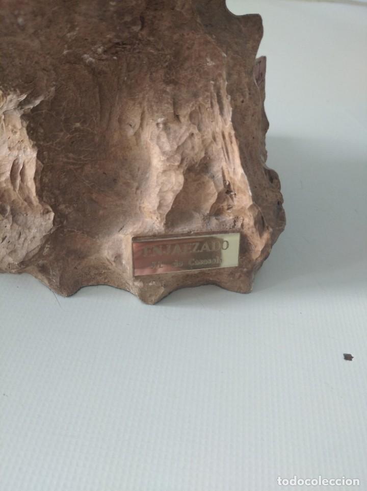 Arte: Escultura resina laminada en bronce, sobre piedra JL casasola cabezade caballo - Foto 5 - 220766106