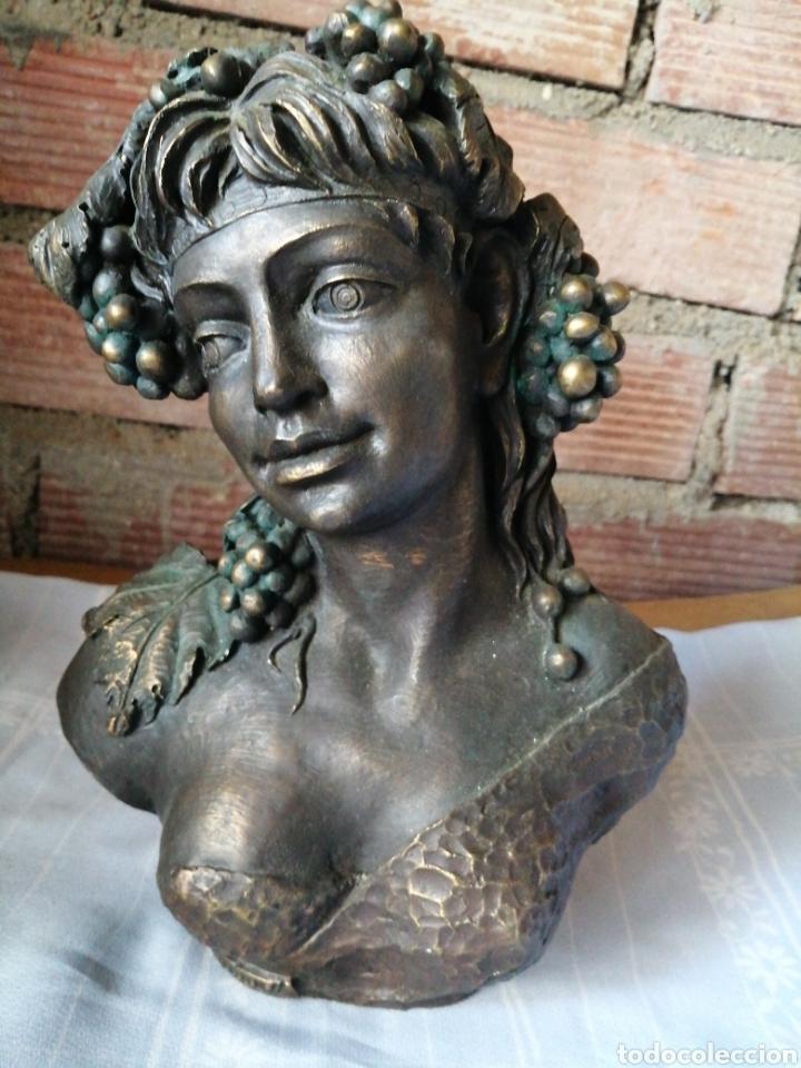 Arte: Figura en resina y bronce - Foto 2 - 220818923