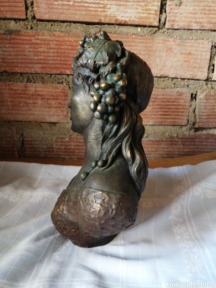 Arte: Figura en resina y bronce - Foto 4 - 220818923