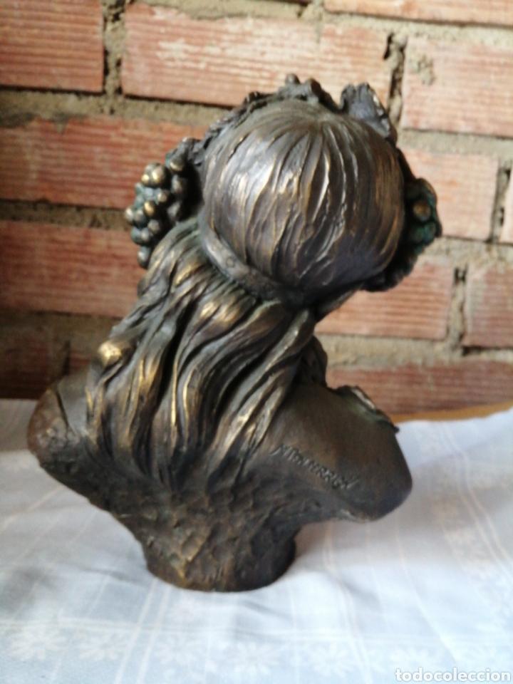 Arte: Figura en resina y bronce - Foto 5 - 220818923