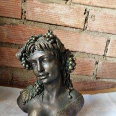 Arte: FIGURA EN RESINA Y BRONCE. Lote 220818923