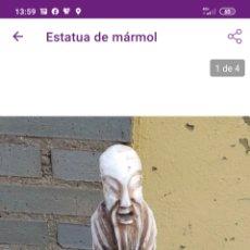 Arte: ESTATUA MÁRMOL. Lote 221367786