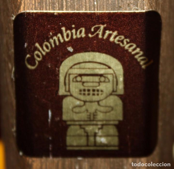 Arte: CECILIA VARGAS MUÑOS-la chiva- (Colombia) CANOA EN TERRACOTA.FIRMADA - Foto 11 - 219676415