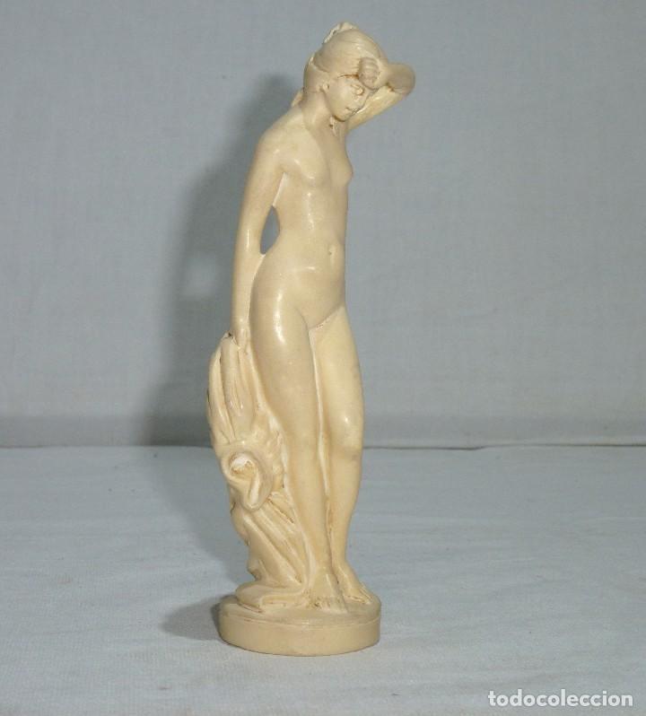 Arte: Escultura Del Escultor Italiano - A. Santini.Años 60 Resina.15 Cm. - Foto 3 - 222141388