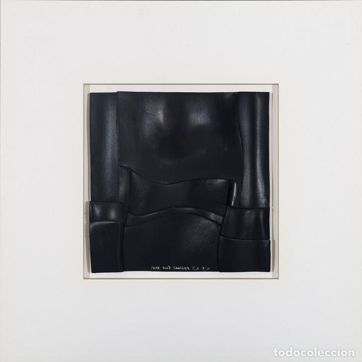 Arte: Conjunto de 3 relieves, edición especial del escultor Jose Luis Sánchez. - Foto 3 - 222424126