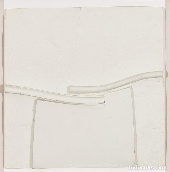 Arte: Conjunto de 3 relieves, edición especial del escultor Jose Luis Sánchez. - Foto 5 - 222424126