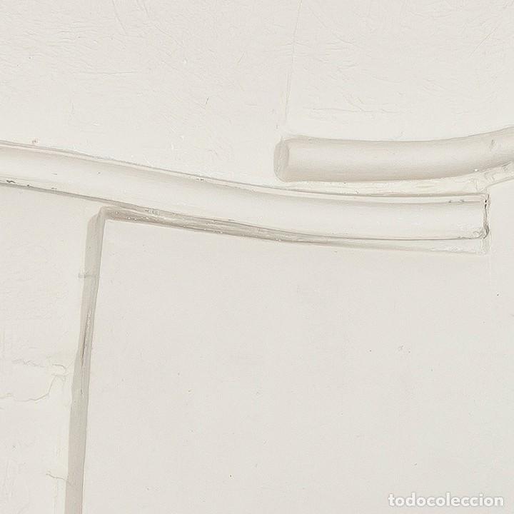 Arte: Conjunto de 3 relieves, edición especial del escultor Jose Luis Sánchez. - Foto 6 - 222424126