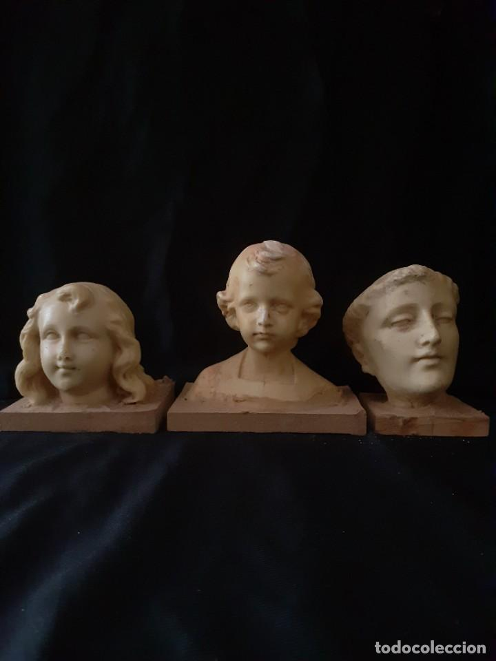 TALLA DE BUSTOS (Arte - Escultura - Resina)