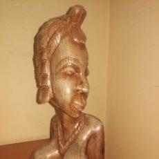 Arte: TALLA AFRICANA 38 CM ENVIO 10 E CERT. Lote 222533140