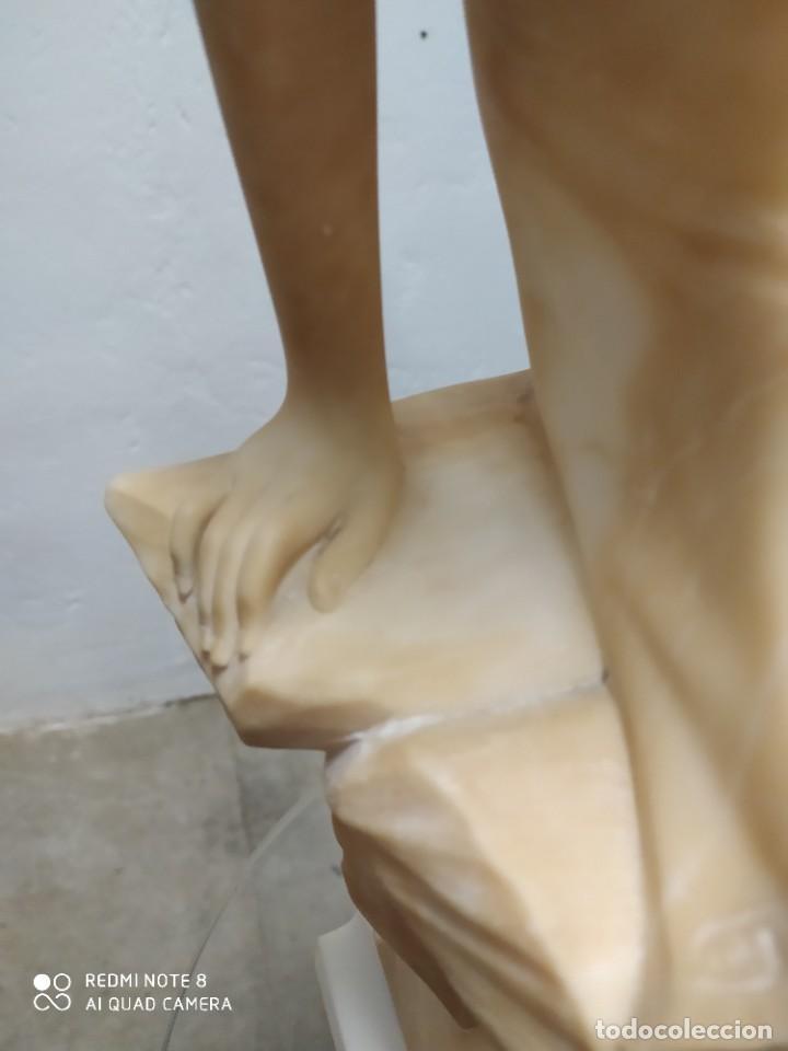 Arte: Escultura alabastro - Foto 3 - 222825271