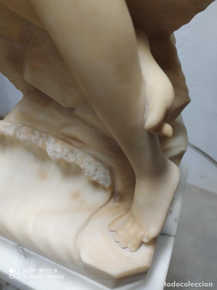 Arte: Escultura alabastro - Foto 4 - 222825271