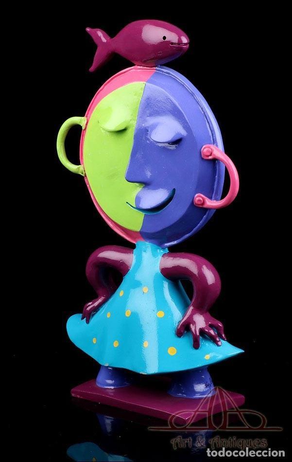 Arte: Escultura de Joan Ripollés Limitada y Numerada 28/33. Firmada. 50 cms. - Foto 3 - 223378548