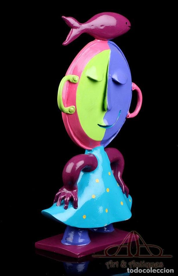 Arte: Escultura de Joan Ripollés Limitada y Numerada 28/33. Firmada. 50 cms. - Foto 5 - 223378548