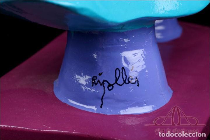 Arte: Escultura de Joan Ripollés Limitada y Numerada 28/33. Firmada. 50 cms. - Foto 11 - 223378548