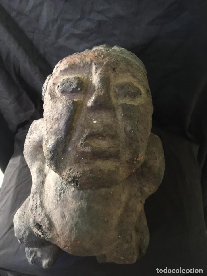 Arte: Gran Escultura Precolombina-Piedra - Foto 4 - 223727513