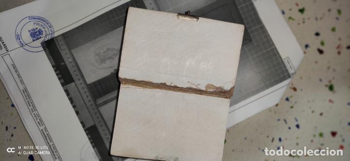 Arte: Misario con tapas de marfil y algún defecto. Pieza de comercialización totalmente legal. - Foto 7 - 223985647