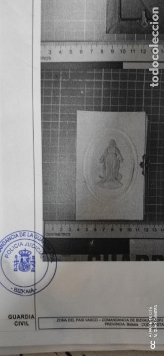 Arte: Misario con tapas de marfil y algún defecto. Pieza de comercialización totalmente legal. - Foto 14 - 223985647