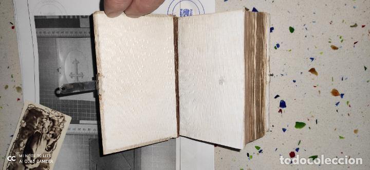 Arte: Misario con tapas de marfil y algún defecto. Pieza de comercialización totalmente legal. - Foto 7 - 223987312