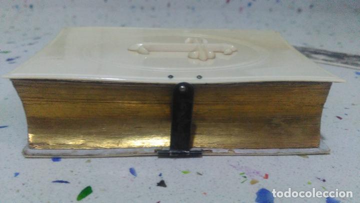 Arte: Misario con tapas de marfil y algún defecto. Pieza de comercialización totalmente legal. - Foto 15 - 223987312