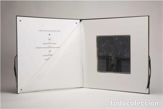 Arte: Conjunto de 3 relieves, edición especial del escultor Jose Luis Sánchez. - Foto 11 - 222424126