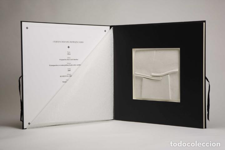 Arte: Conjunto de 3 relieves, edición especial del escultor Jose Luis Sánchez. - Foto 8 - 222424126