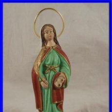 Arte: VIRGEN MARIA DE BARRO CON LOS PECHOS DE SANTA AGUEDA. Lote 224333805
