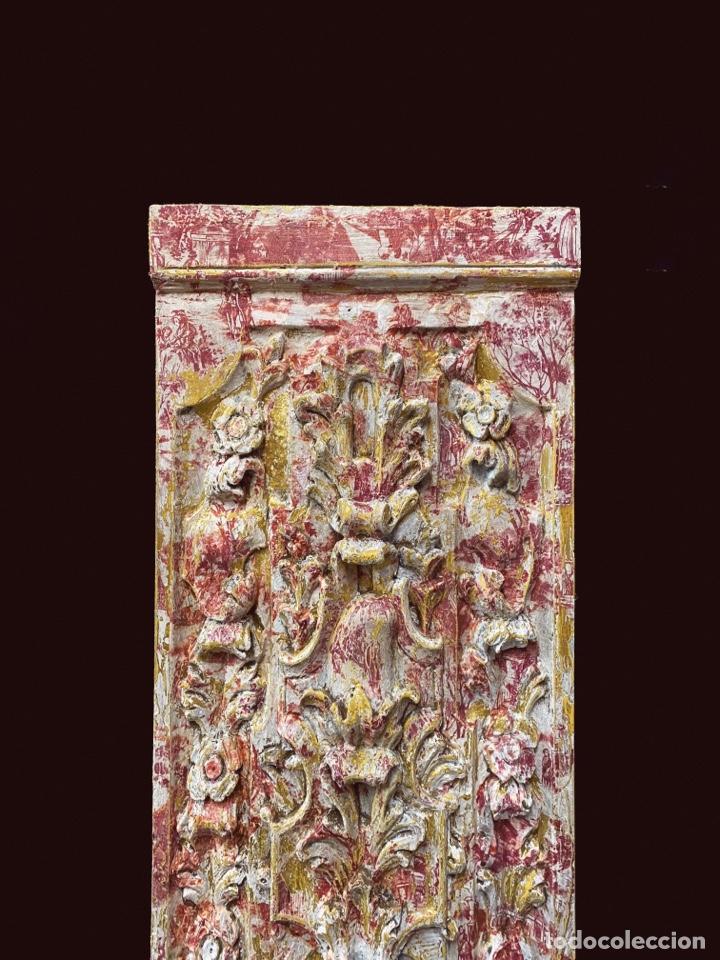 Arte: Espectacular tabla decorada con motivos de toile de jouy - Foto 2 - 224389321