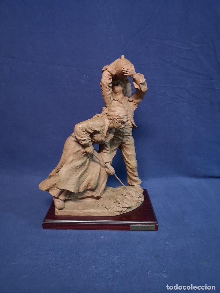 ESCULTURA J.BOFILL (Arte - Escultura - Terracota )