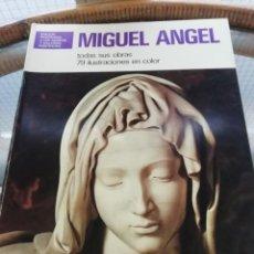 Arte: MIGUEL ÁNGEL TODAS SUS OBRAS 79 FOTOS EN COLOR. Lote 225520315