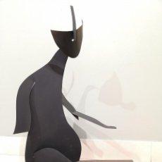 Arte: EMILE GIREAU. (FRANCIA 1987). GATO. ACERO.. Lote 226253800