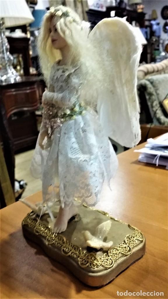 Arte: Ángel - muñeca - hada artesanal, creada por la artista americana Cheryl Fornengo - Envío gratis* - Foto 4 - 226276540