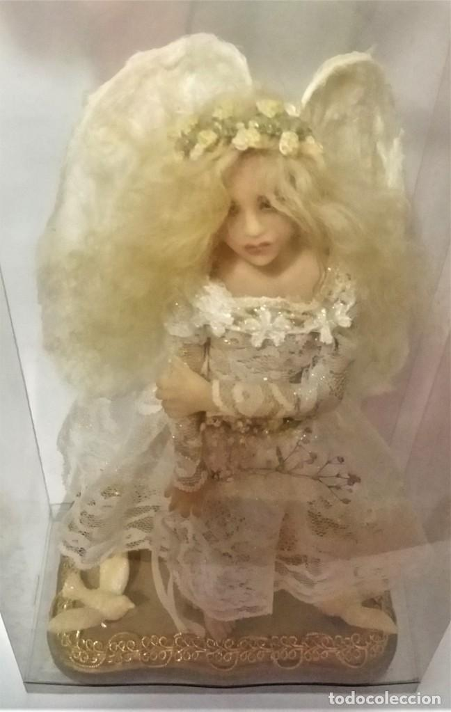Arte: Ángel - muñeca - hada artesanal, creada por la artista americana Cheryl Fornengo - Envío gratis* - Foto 12 - 226276540
