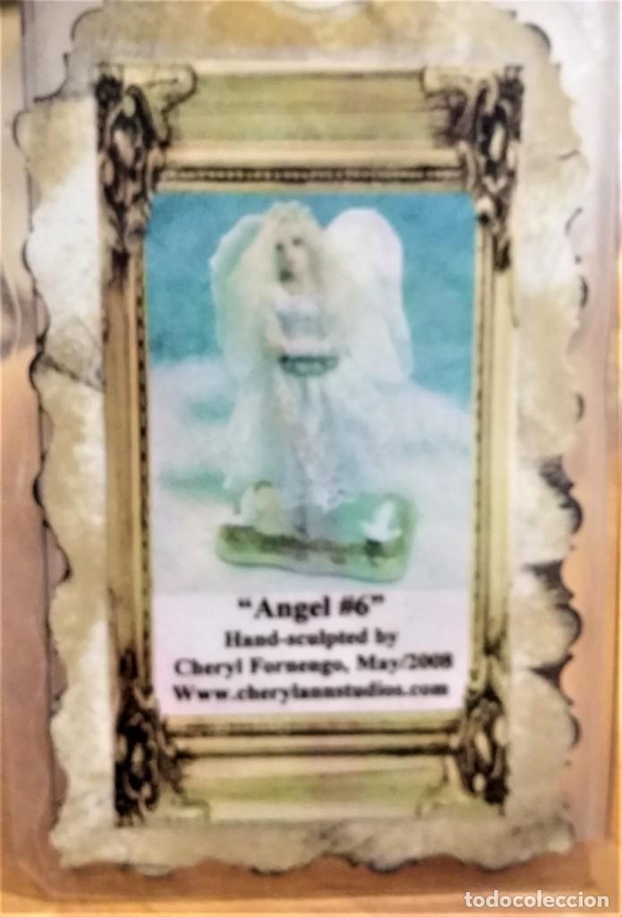 Arte: Ángel - muñeca - hada artesanal, creada por la artista americana Cheryl Fornengo - Envío gratis* - Foto 14 - 226276540