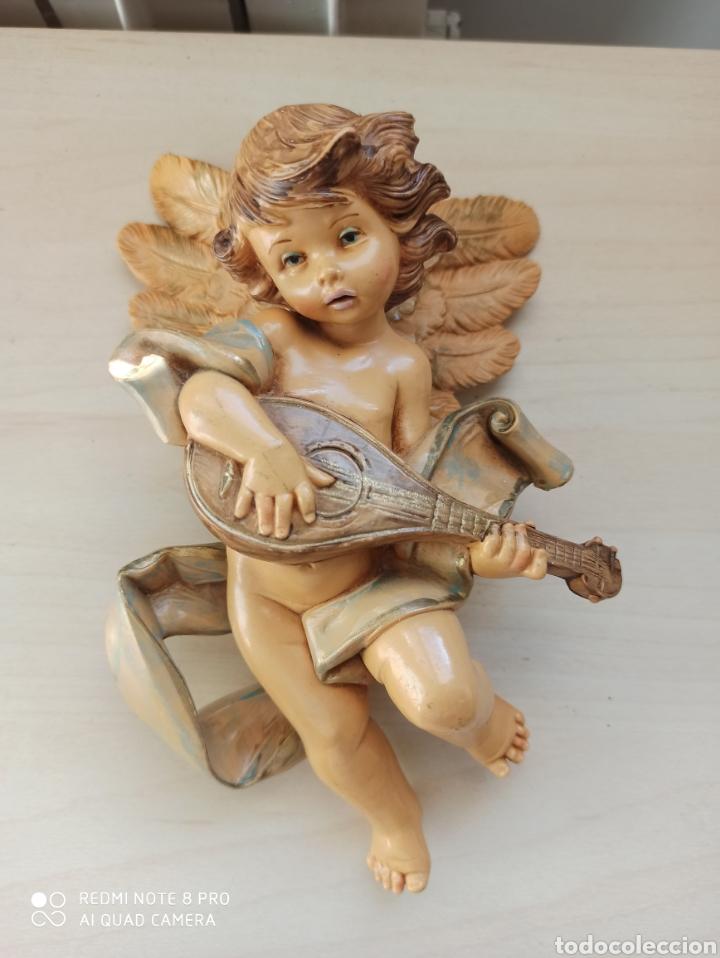 ANGELES DE RESINA. SIMONETTI-FONTINI (Arte - Escultura - Resina)