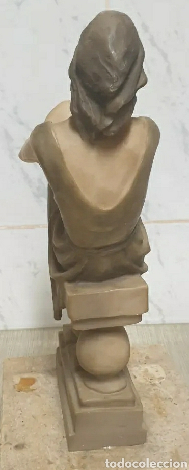 Arte: Escultura Resina Josep Bofill Compañeros de Soledad 1987 firmada alto 33,5 cm - Foto 5 - 226458537