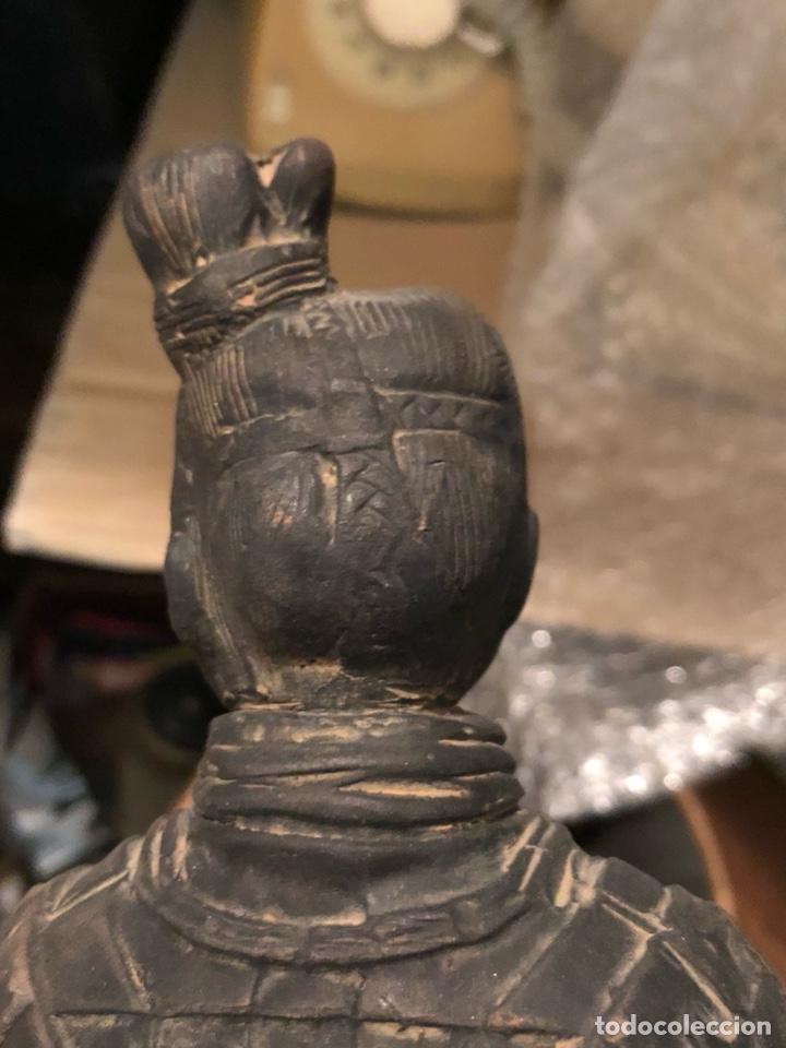 Arte: Bonito guerrero chino echo en barro - Foto 5 - 226904140