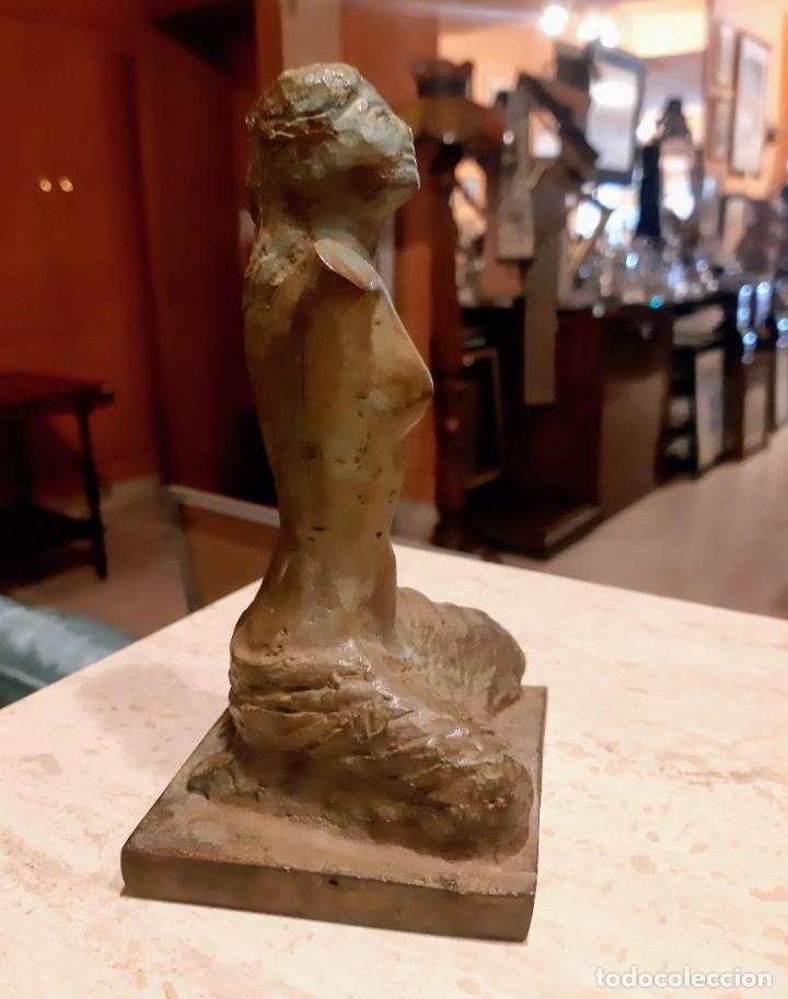 ESCULTURA BRONCE PATINADO (Arte - Escultura - Bronce)