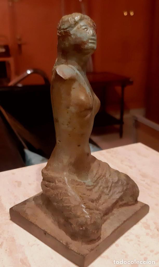Arte: Escultura bronce patinado - Foto 2 - 228424930
