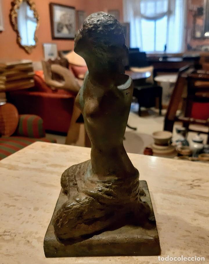 Arte: Escultura bronce patinado - Foto 4 - 228424930