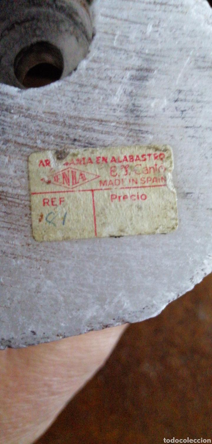 Arte: MARAVILLOSA FIGURA TALLADA DE MONJE CHINO HECHO EN ALABASTRO - Foto 5 - 228626560